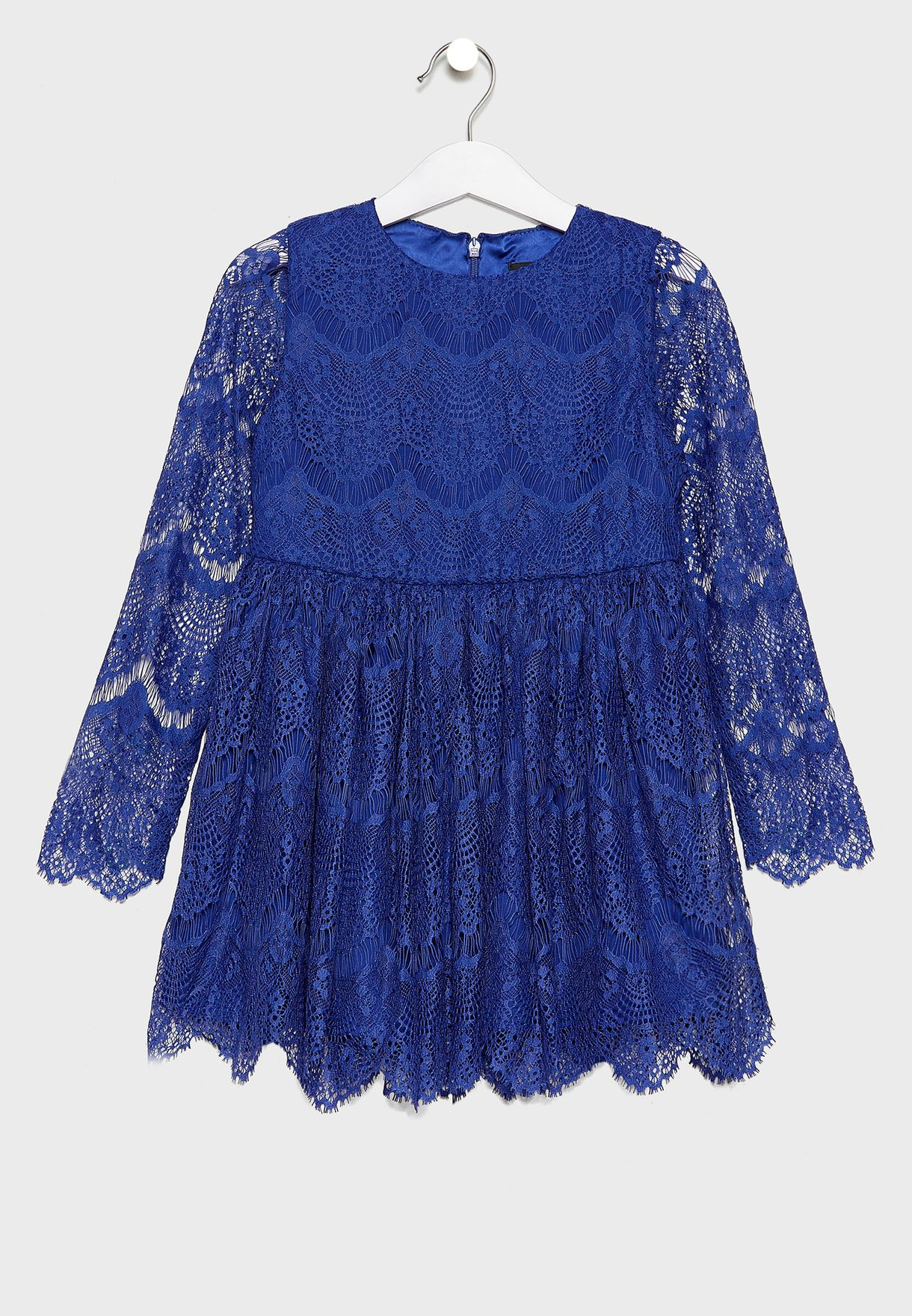 Little Lace Embroidered Dress