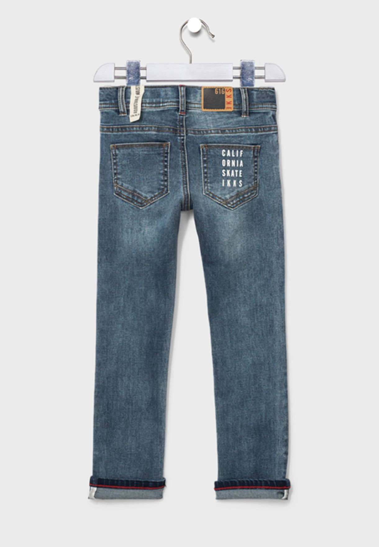 Youth Embroidered Jeans