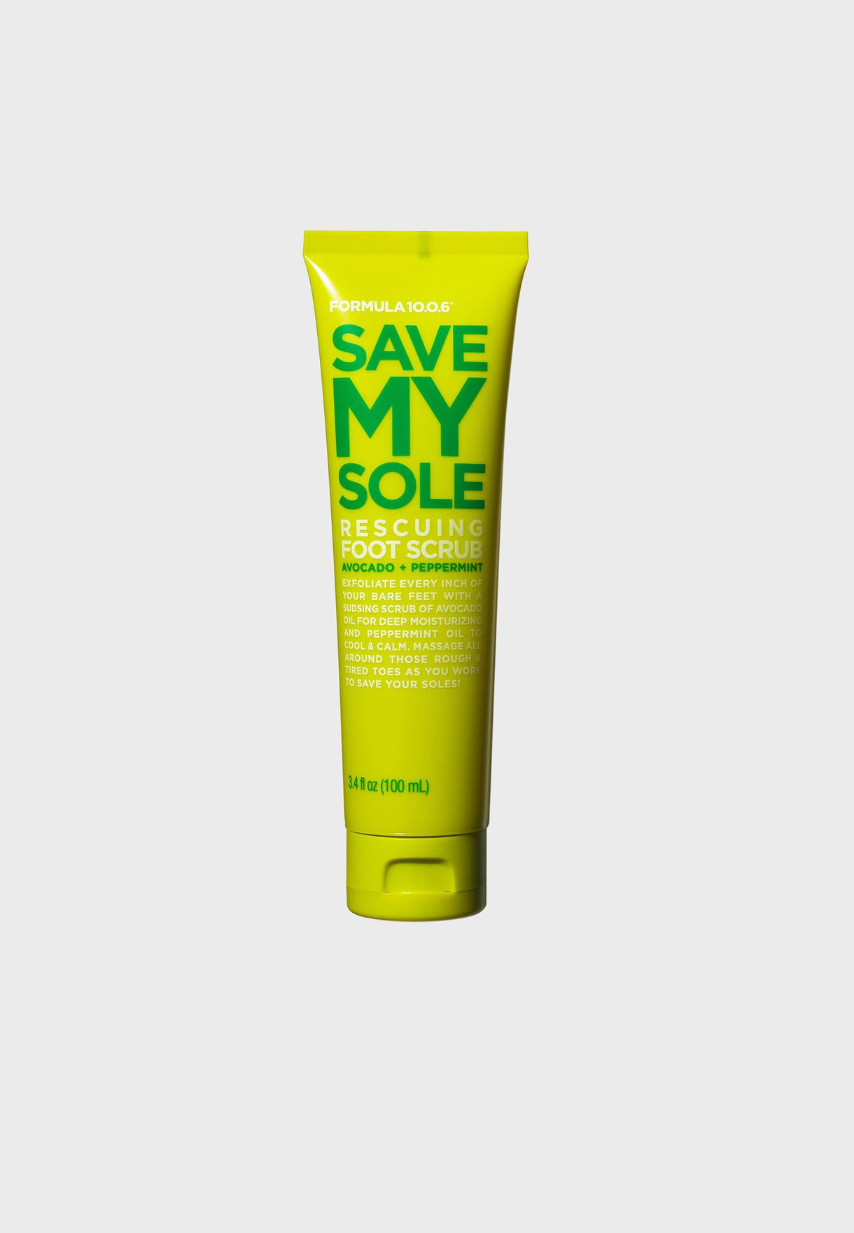 Save My Sole - Rescuing Foot Scrub