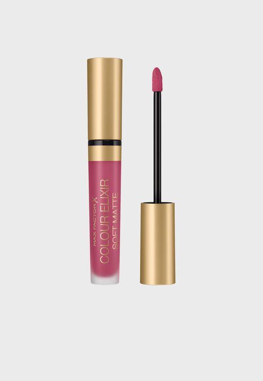 Colour Elixir Soft Matte Lipstick 020 Blushing Ruby