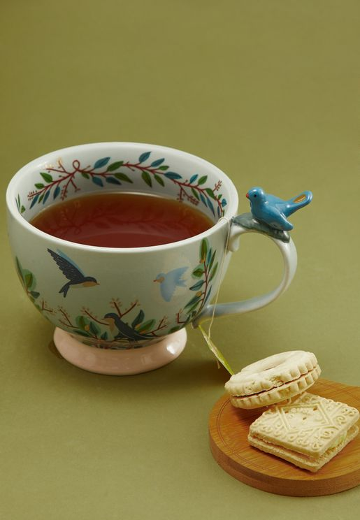 Bird Teacup With Gift Box