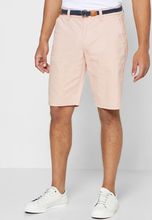 Will Belted Chino Shorts