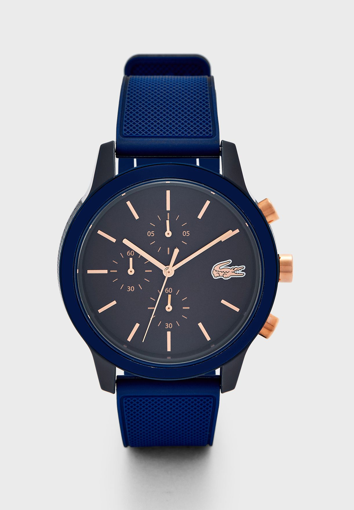 2011013 Silicone Strap Analog Watch