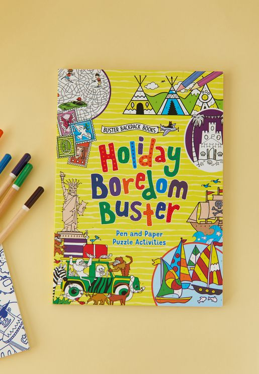 Holiday Boredom Buster Book