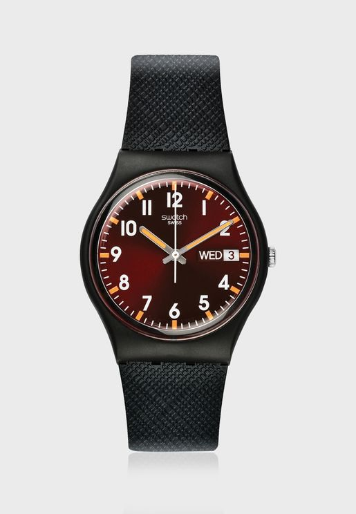 Sir Red Analog Watch