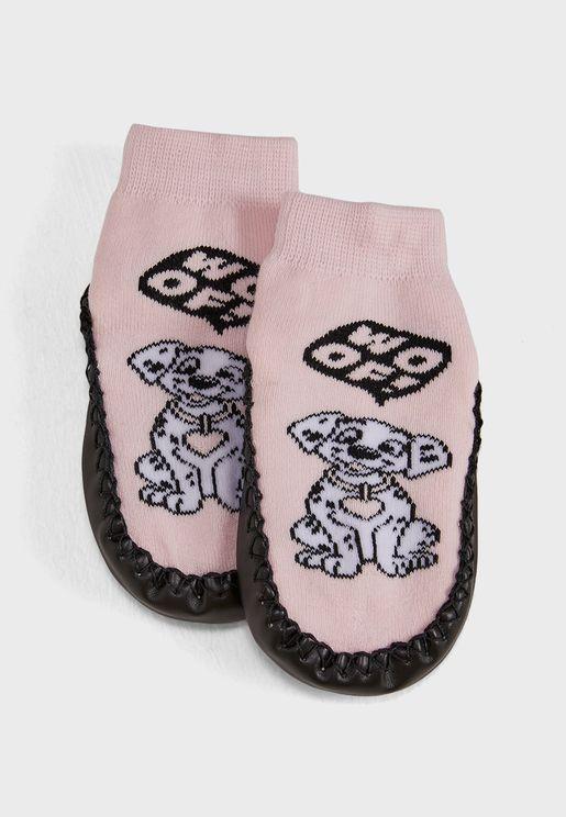 Kids 101 Dalmatians Socks