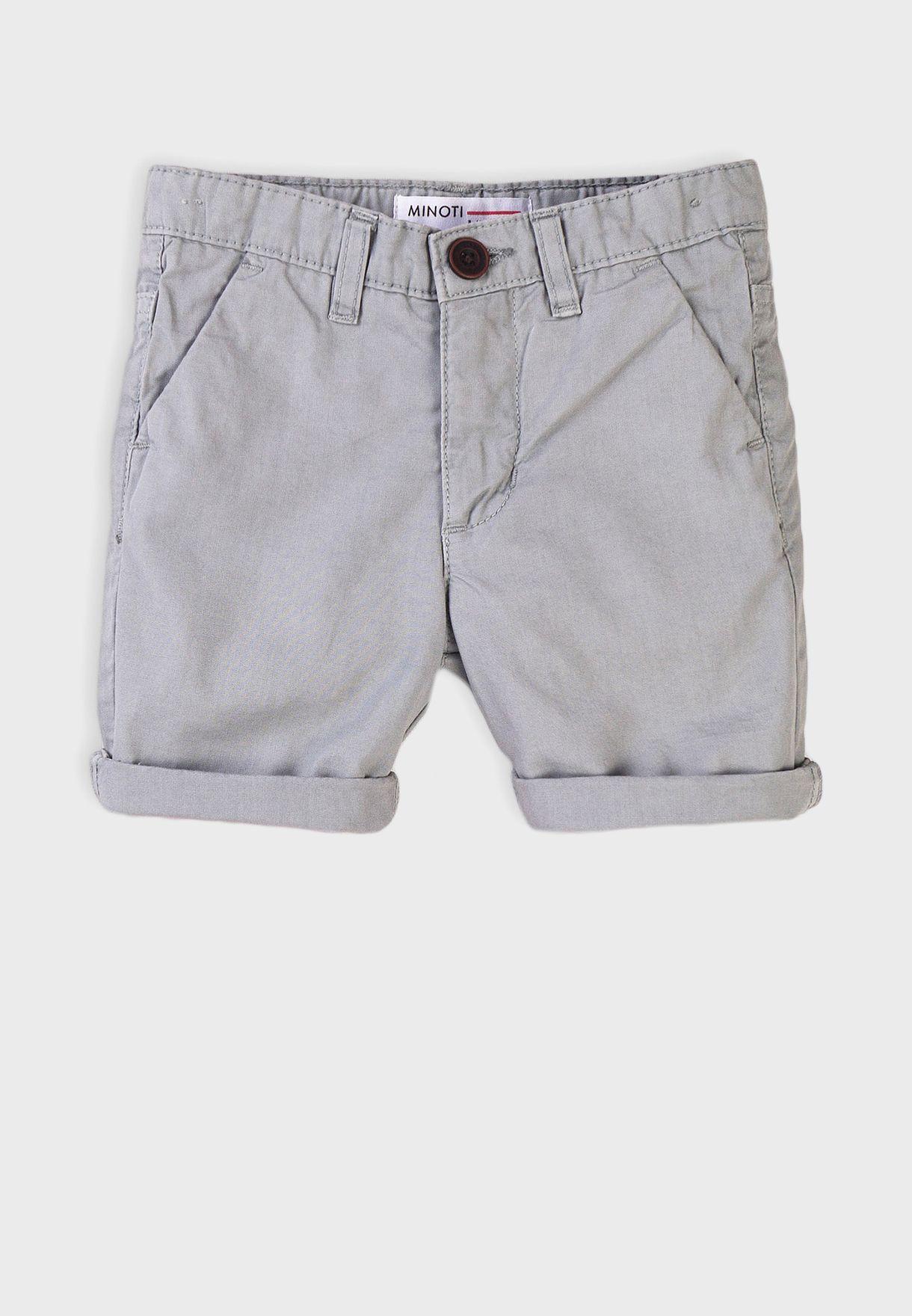 Teen Basic Chino Shorts