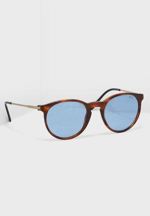 Striped Havana Sunglasses