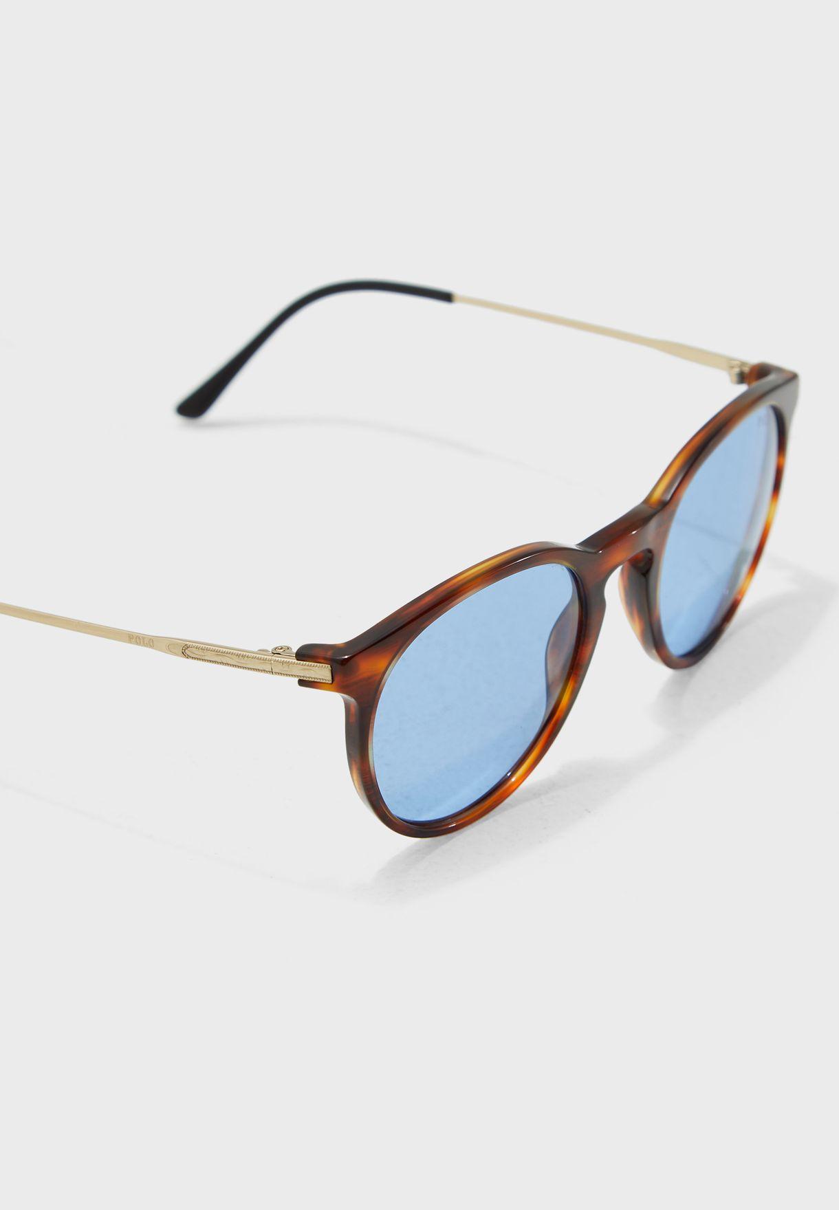 0PH4096 Striped Havana Sunglasses