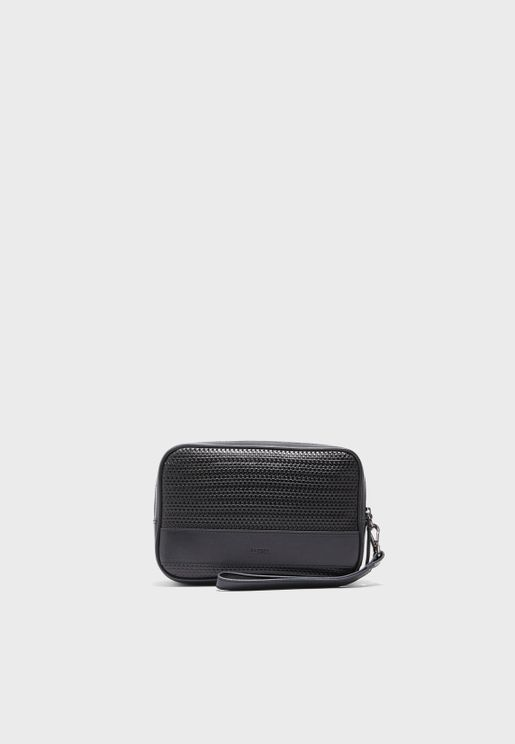 Genuine Leather Toiletry Bag