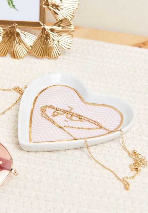 Hayati Heart Trinket Tray