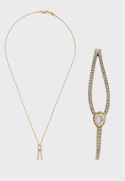 Hatton Necklace+Bracelet Set