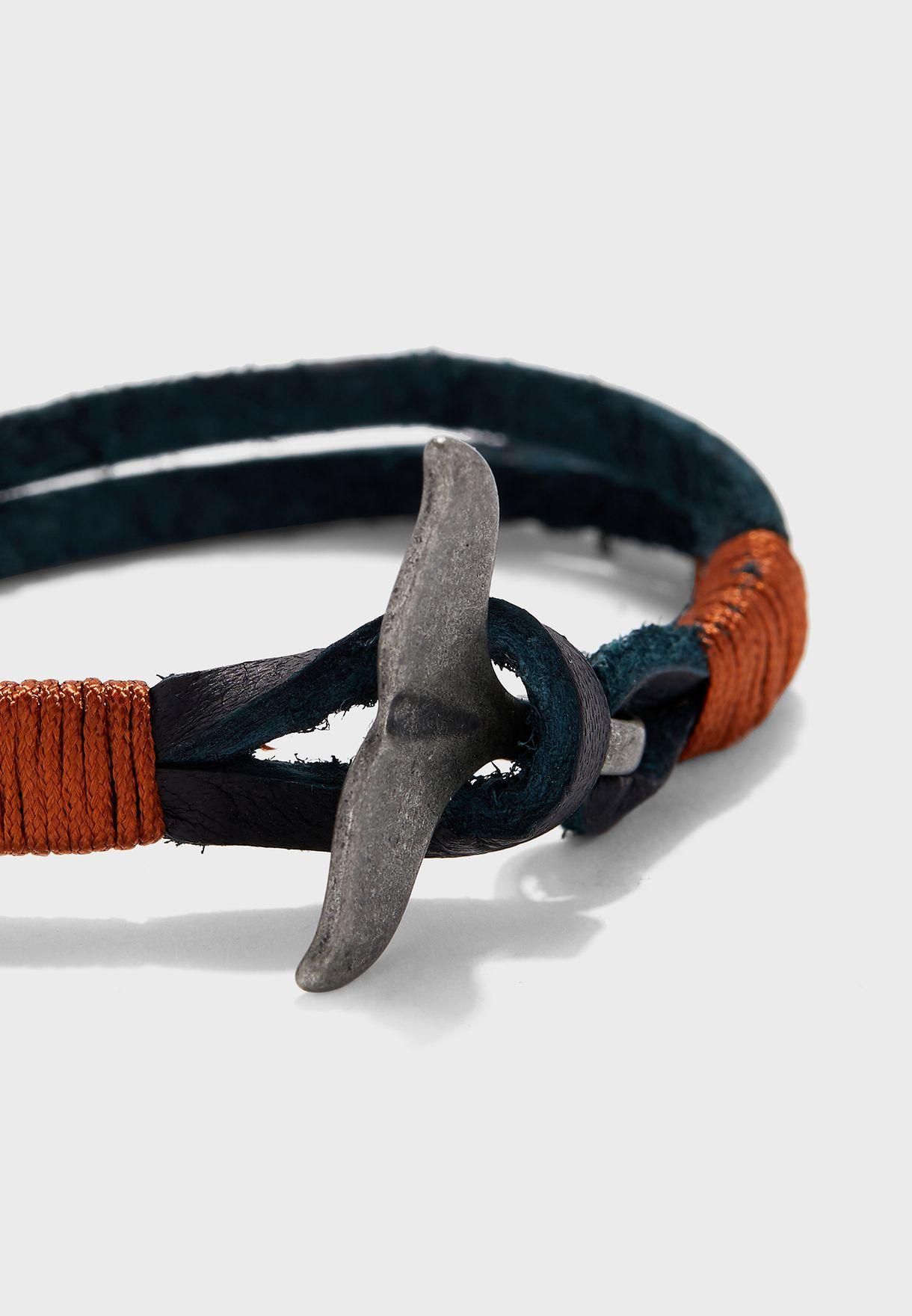 Fin Lock Bracelet