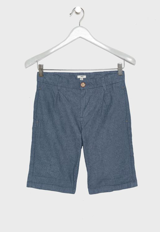 Kids Essential Bermuda Shorts