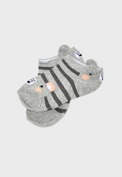 Kids 2 Pack Socks