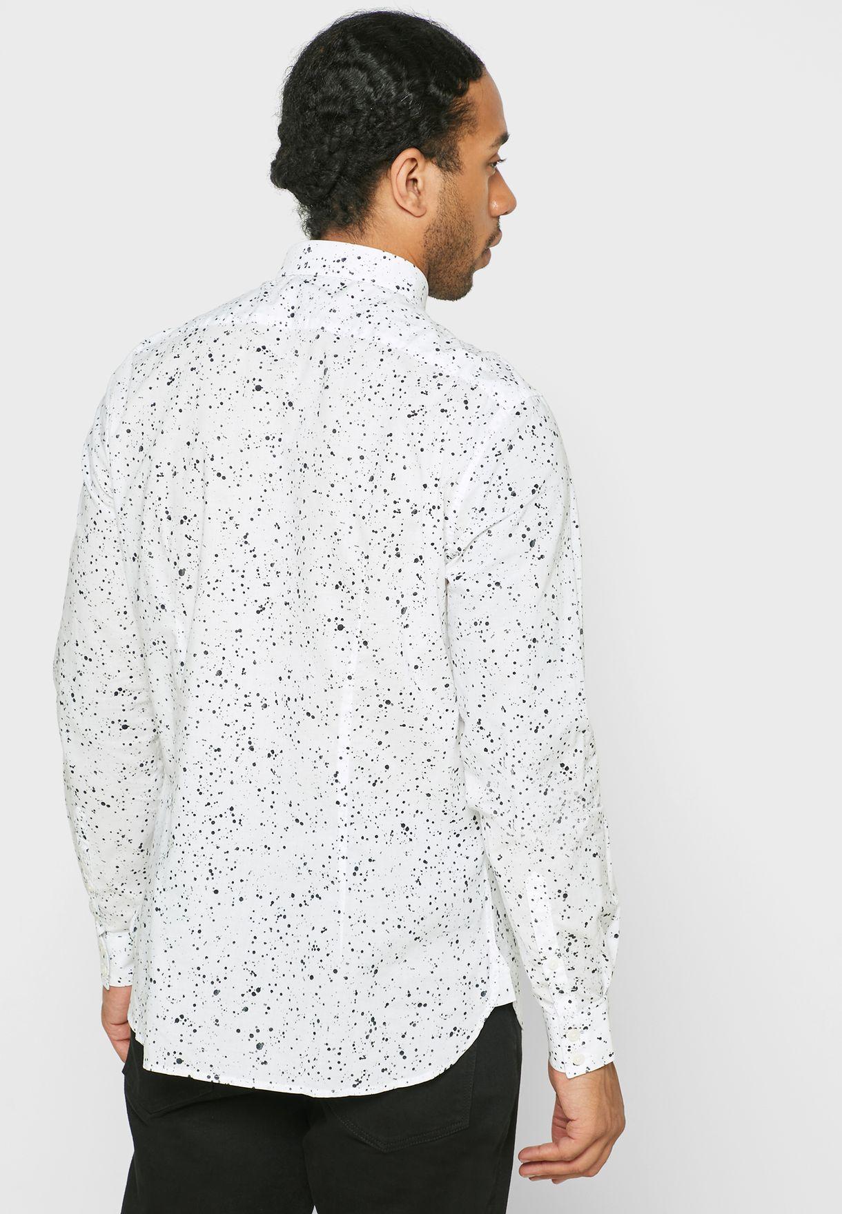 قميص سلم فت مطبع