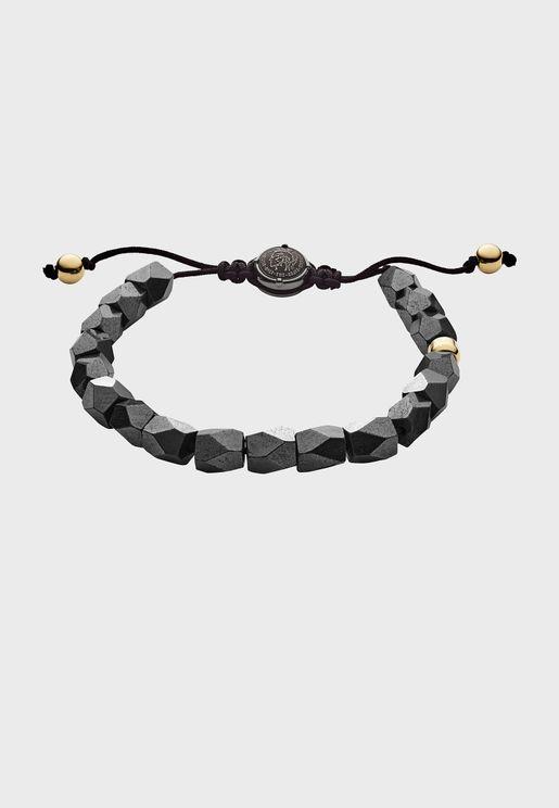 Haematite Beaded Bracelet