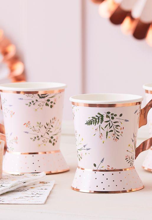 Tea Party Floral Tea Cup