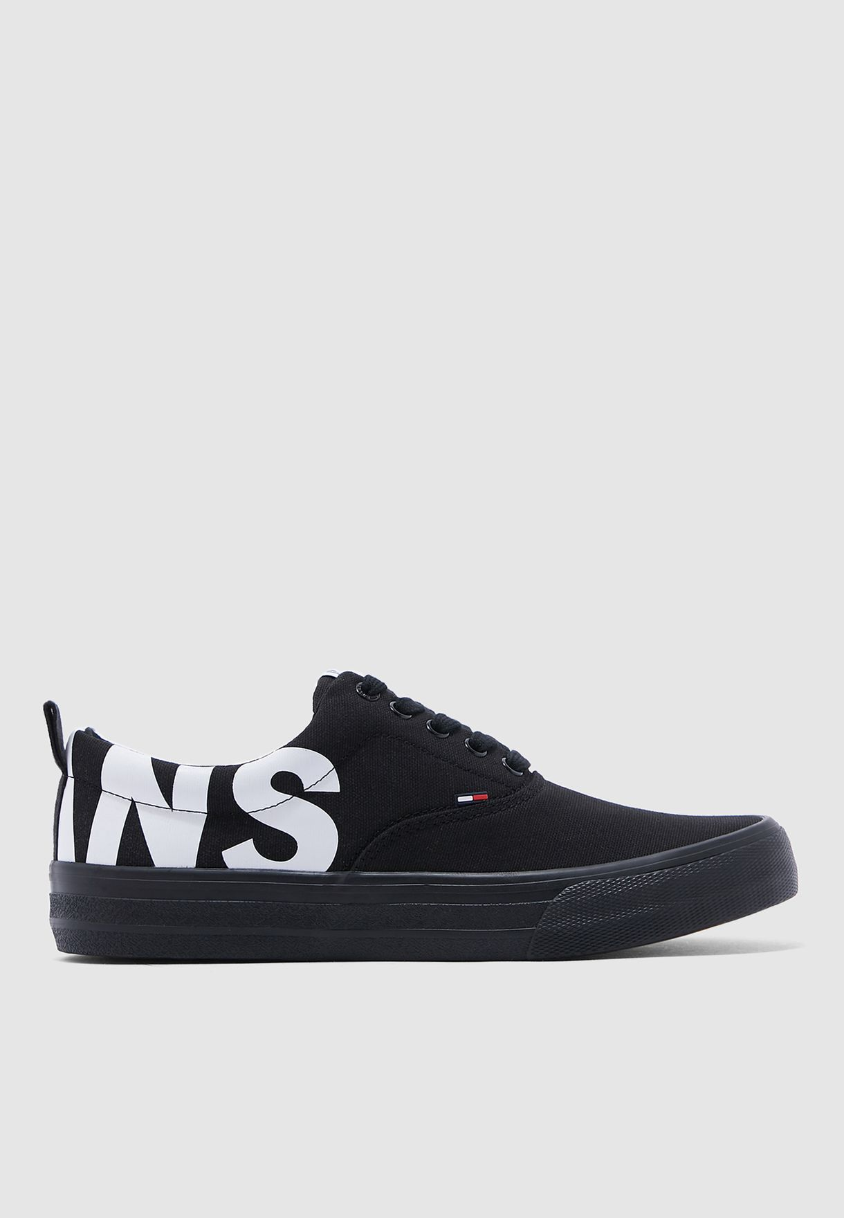 Tommy Jeans black Logo Classic Sneakers