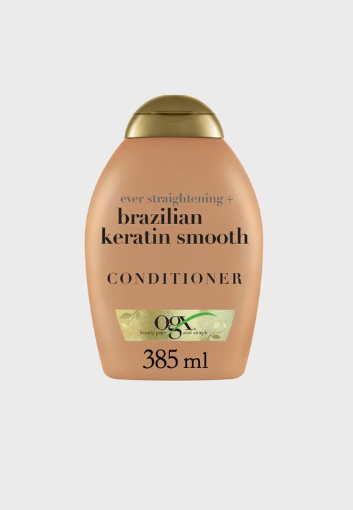 Ever Straightening+ Brazilian Keratin Conditioner 385ml