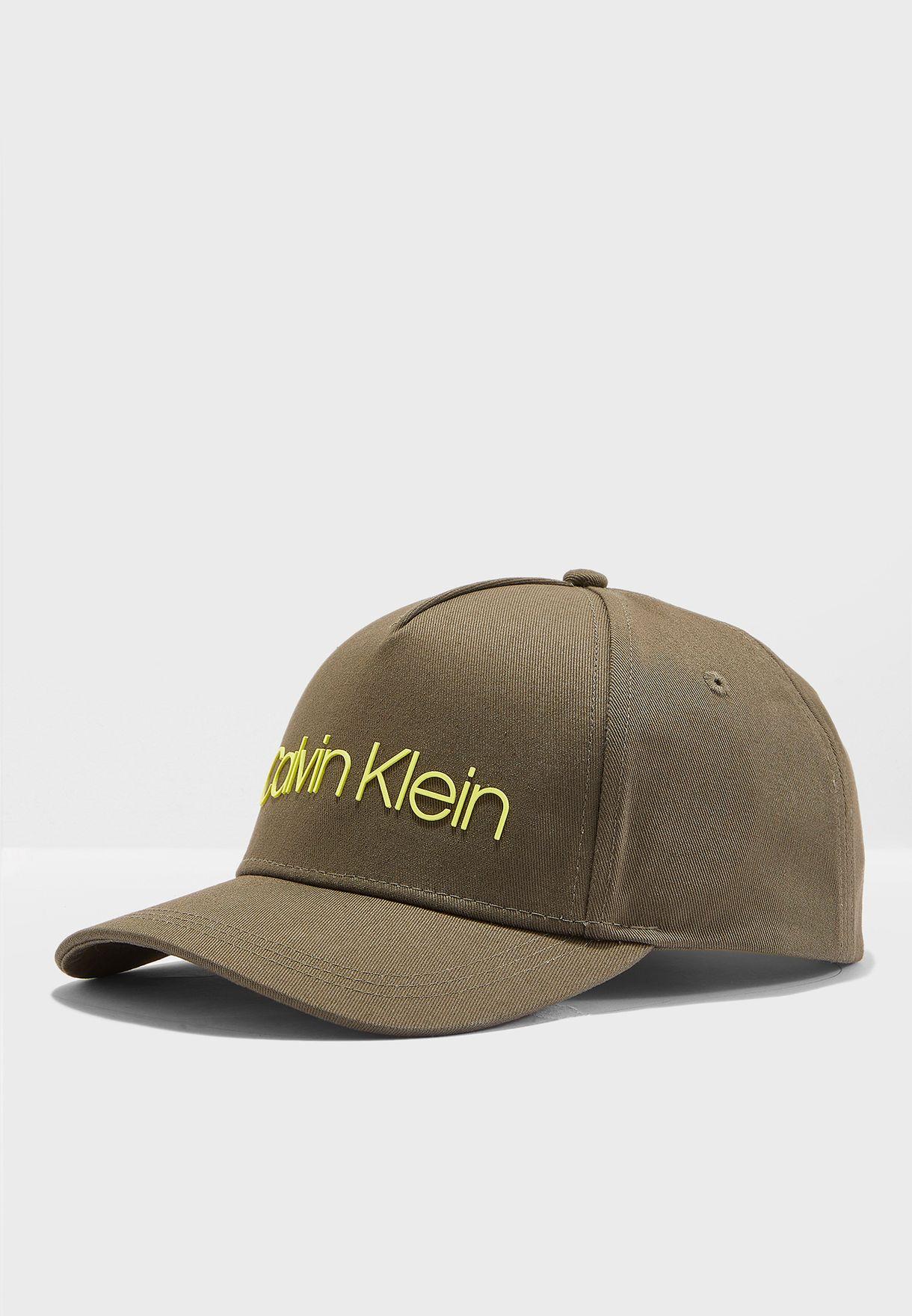 3db5396b1b675 Shop Calvin Klein green Contrast Cap K50K504665 for Men in UAE ...