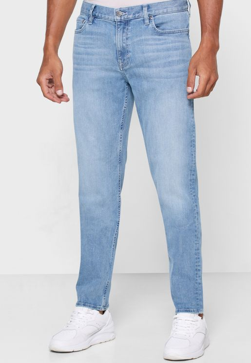 World Traveler Mr Happy Straight Fit Jeans