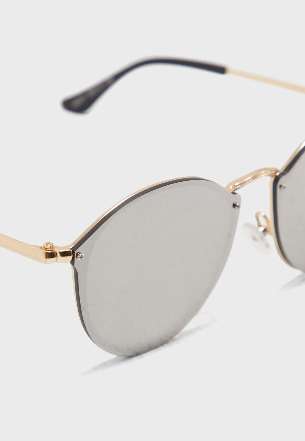 نظارة شمسية دائرية كلاسيكية