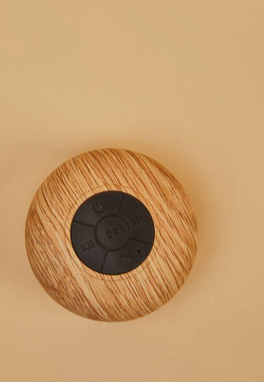 Woodgrain Shower Speaker