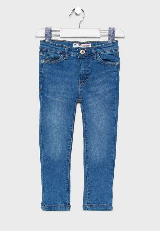 جينز ضيق مطاطي