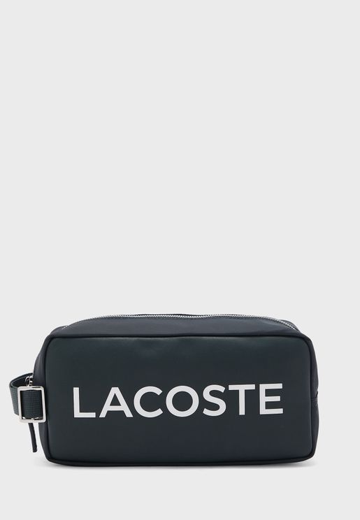 Logo Printed Toiletry Bag