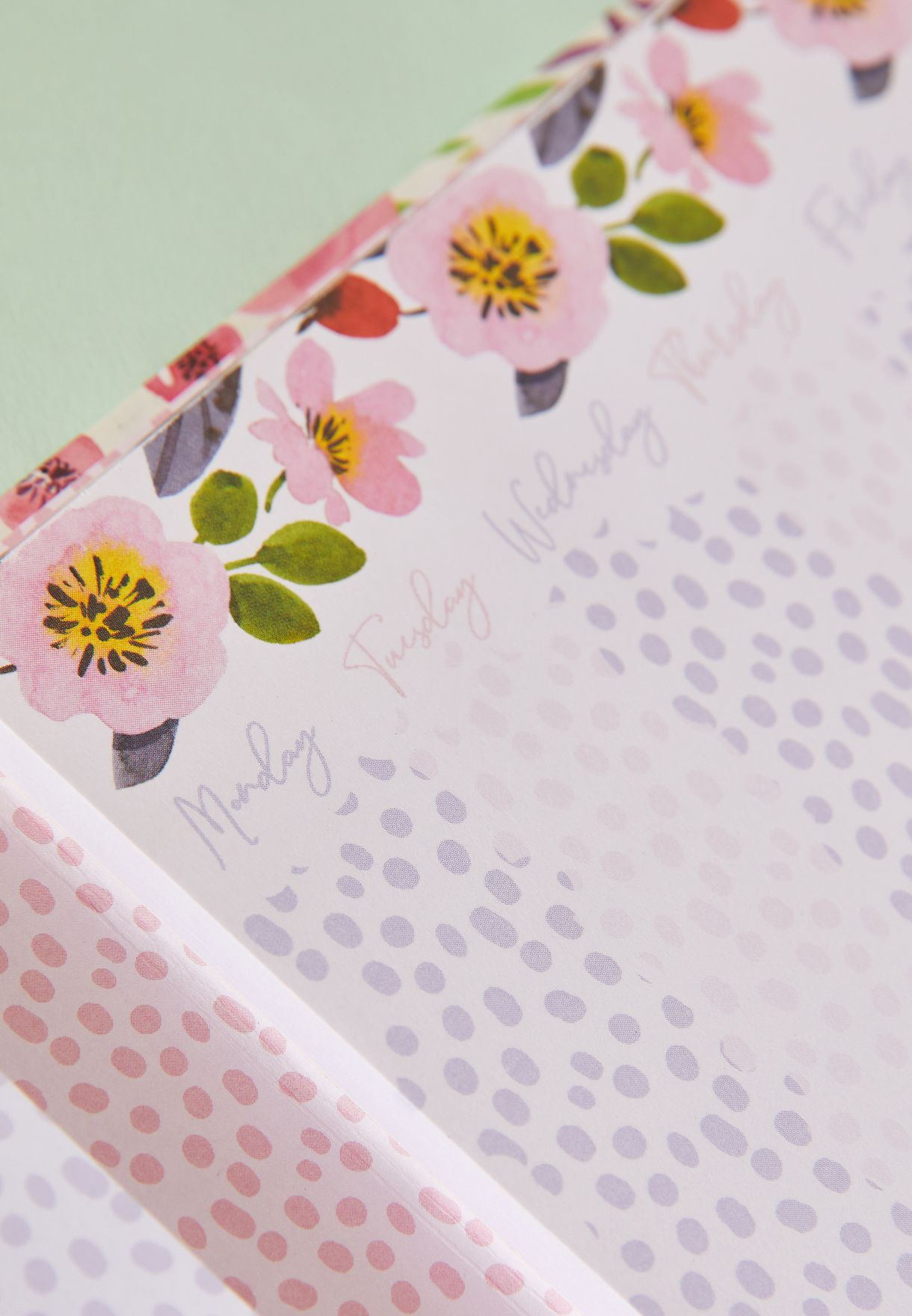 Weekly Planner With A Document Pocket
