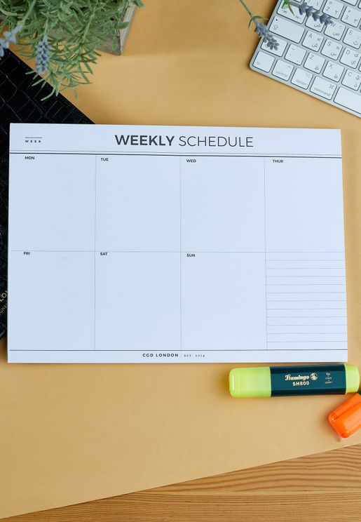The Ultimate Weekly Planner