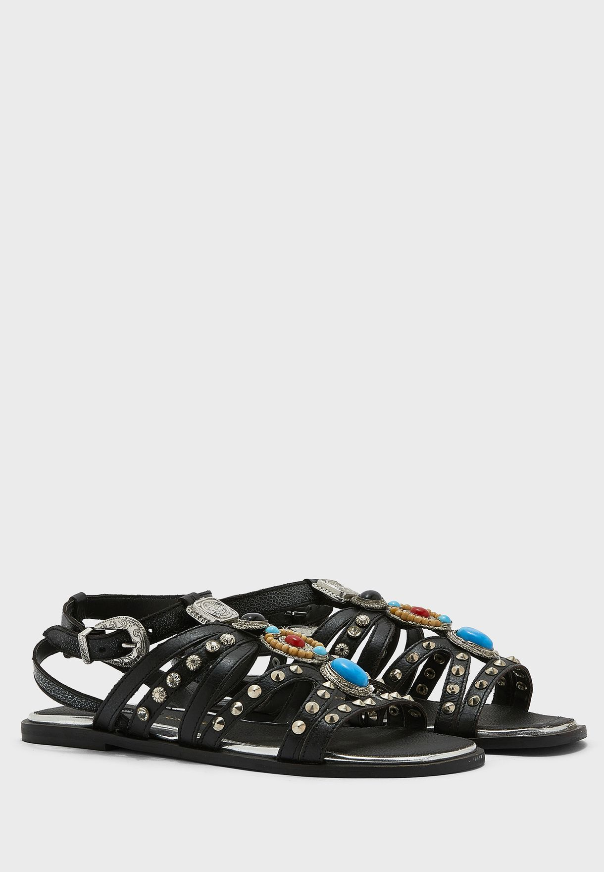Hardware Gladiator Sandal