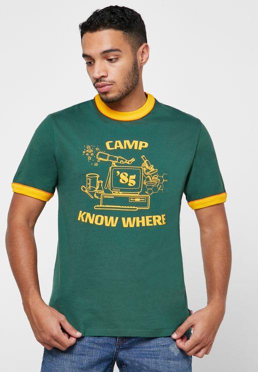 Stranger Things Crew Neck T-Shirt