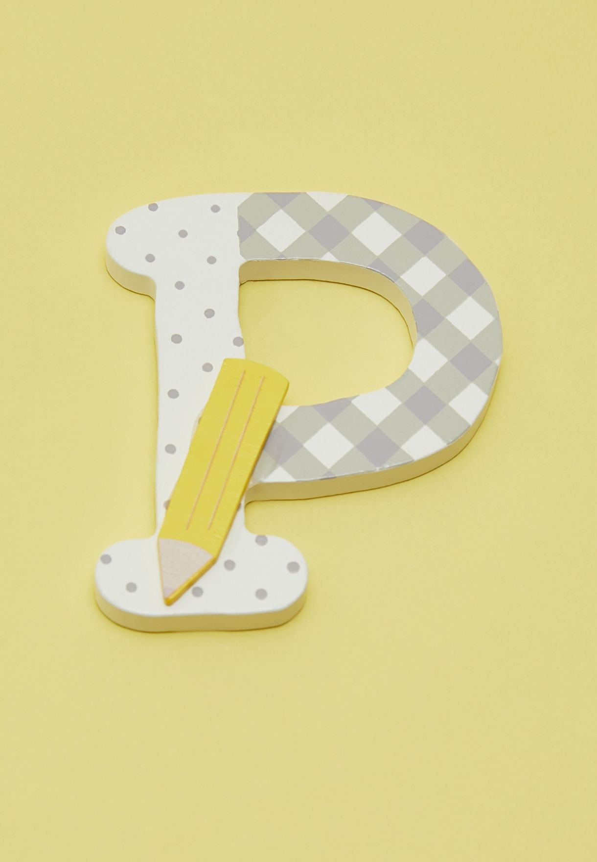 P-Wooden Letters