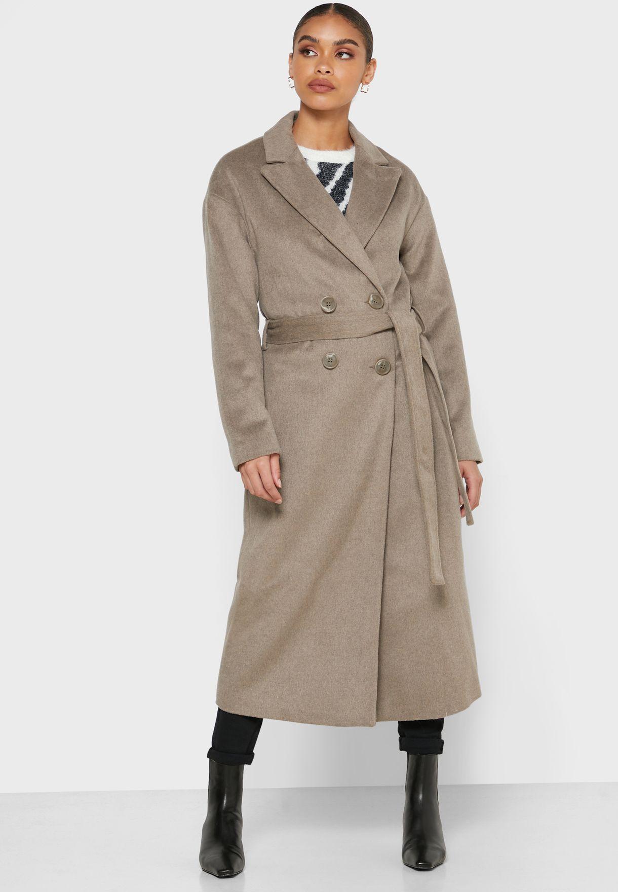 معطف طويل