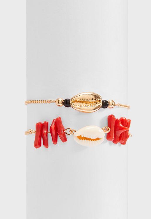 Multipack Borabora Bracelets