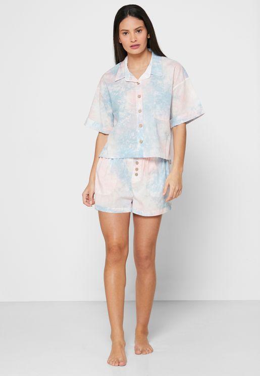 طقم قميص + شورت