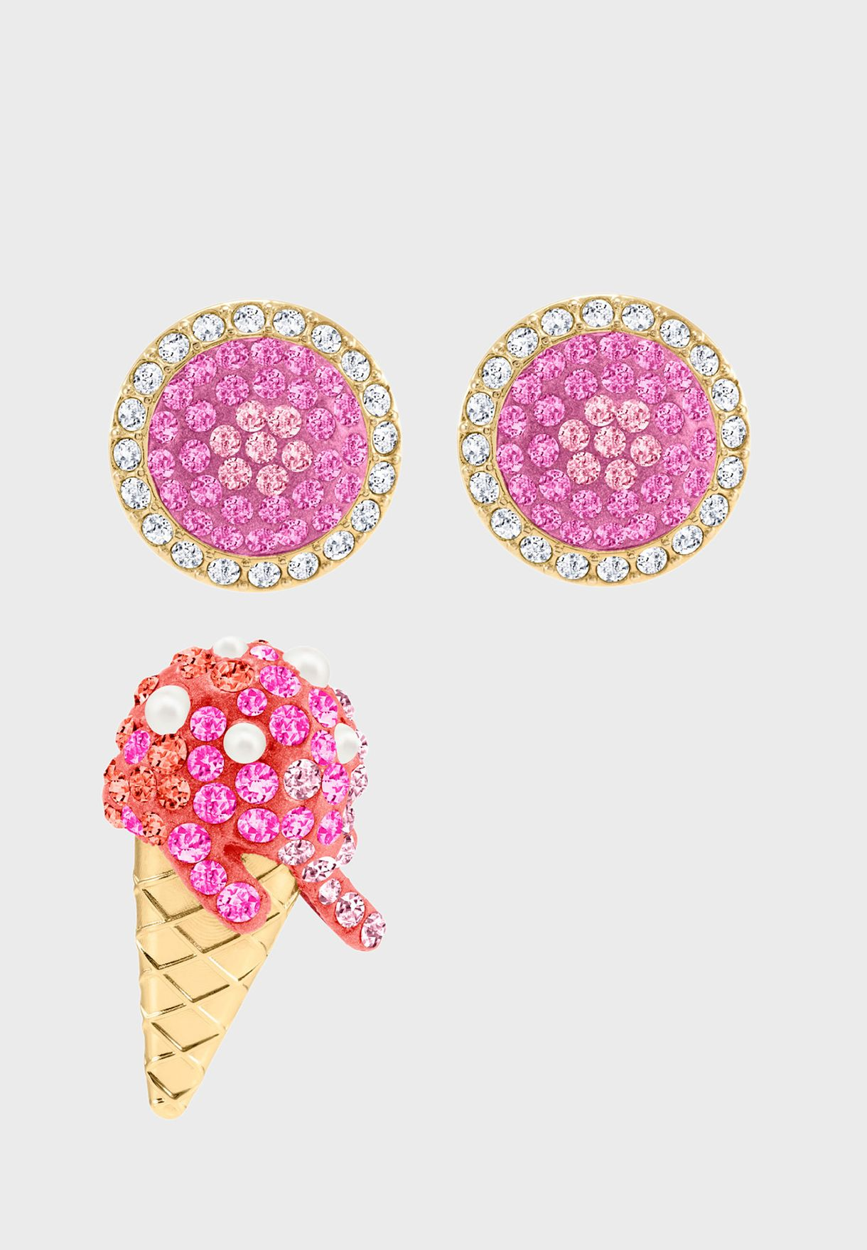 No Regrets Stud Ice Cream Earrings