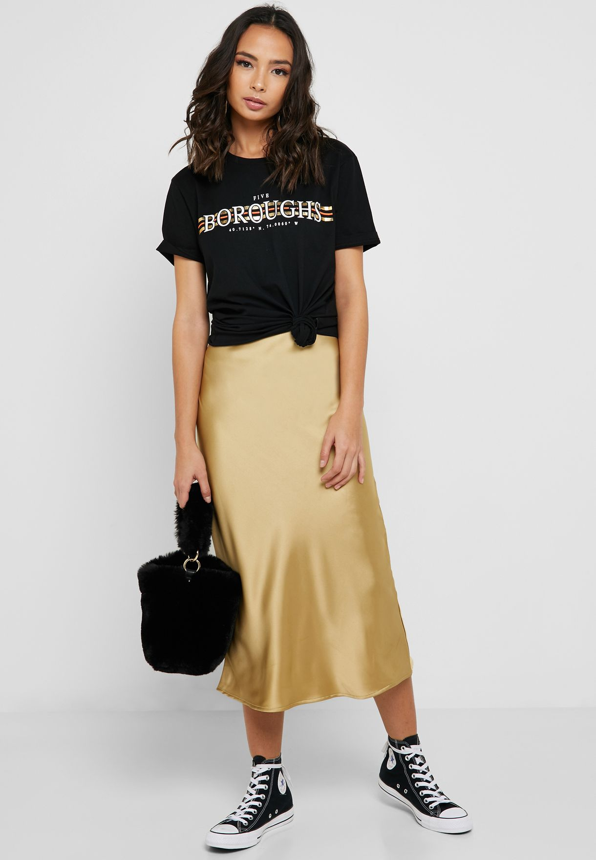 best selection of special discount to buy Bias Midi Skirt