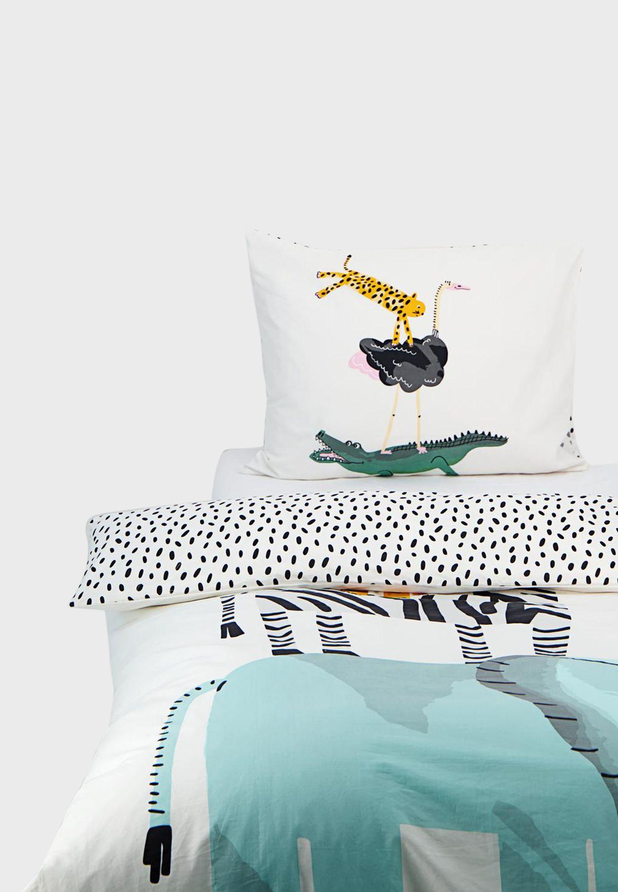 غطاء لحاف ووسادة - 140 × 200