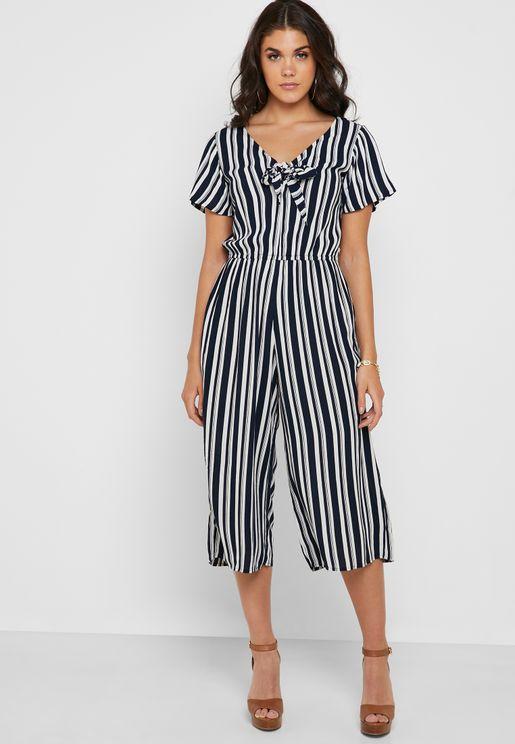 043973781d5 Striped Cropped Jumpsuit. Dorothy Perkins. Striped Cropped Jumpsuit. 150 AED