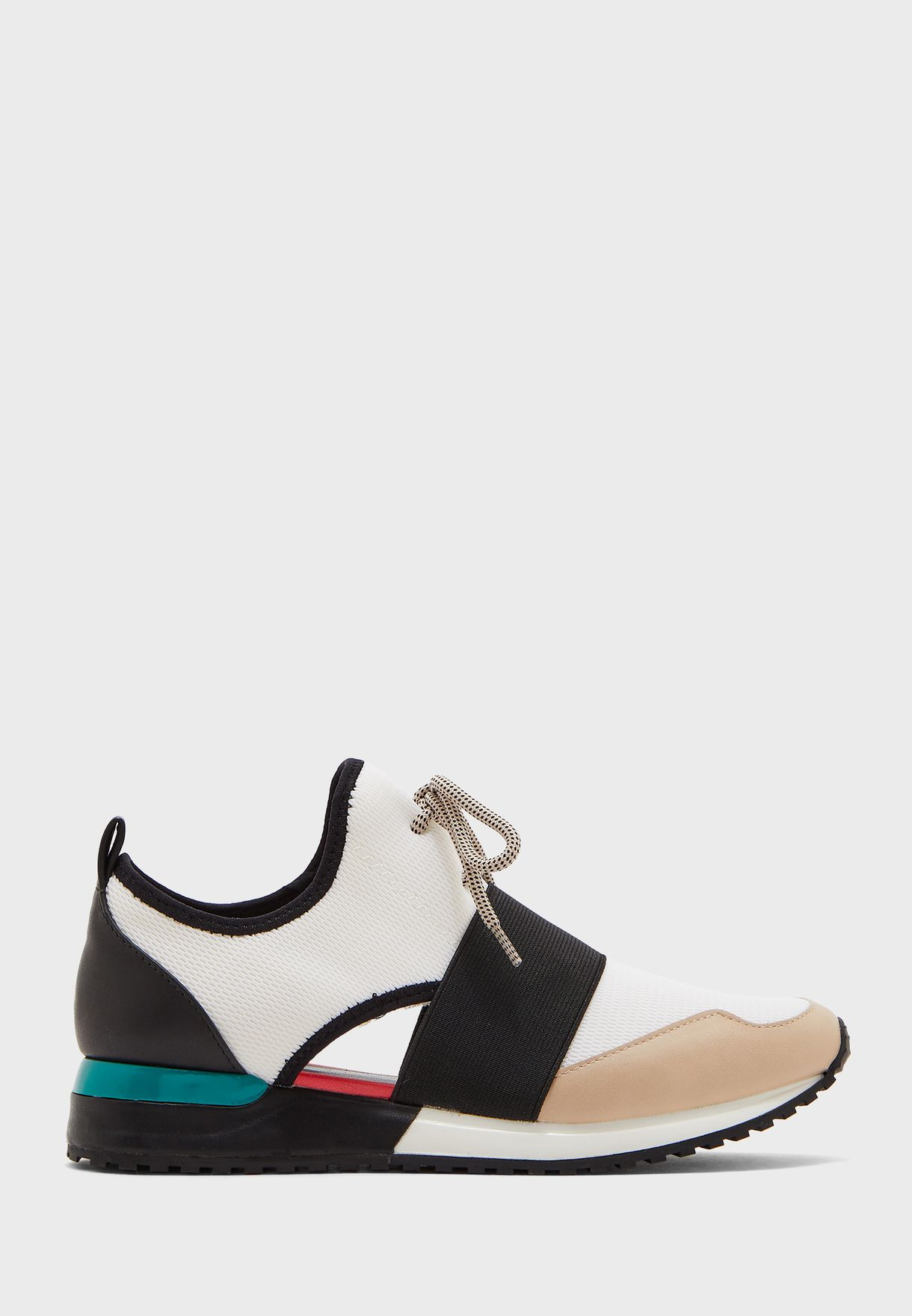 Dwiedia Low-Top Sneaker - White Multi