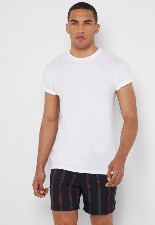 Roller Crew Neck T-Shirt