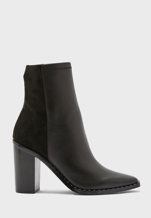 Alycia High Heel Ankle Boot