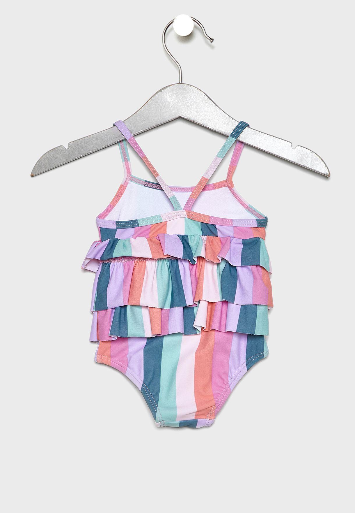 Kids Layered Swimsuit