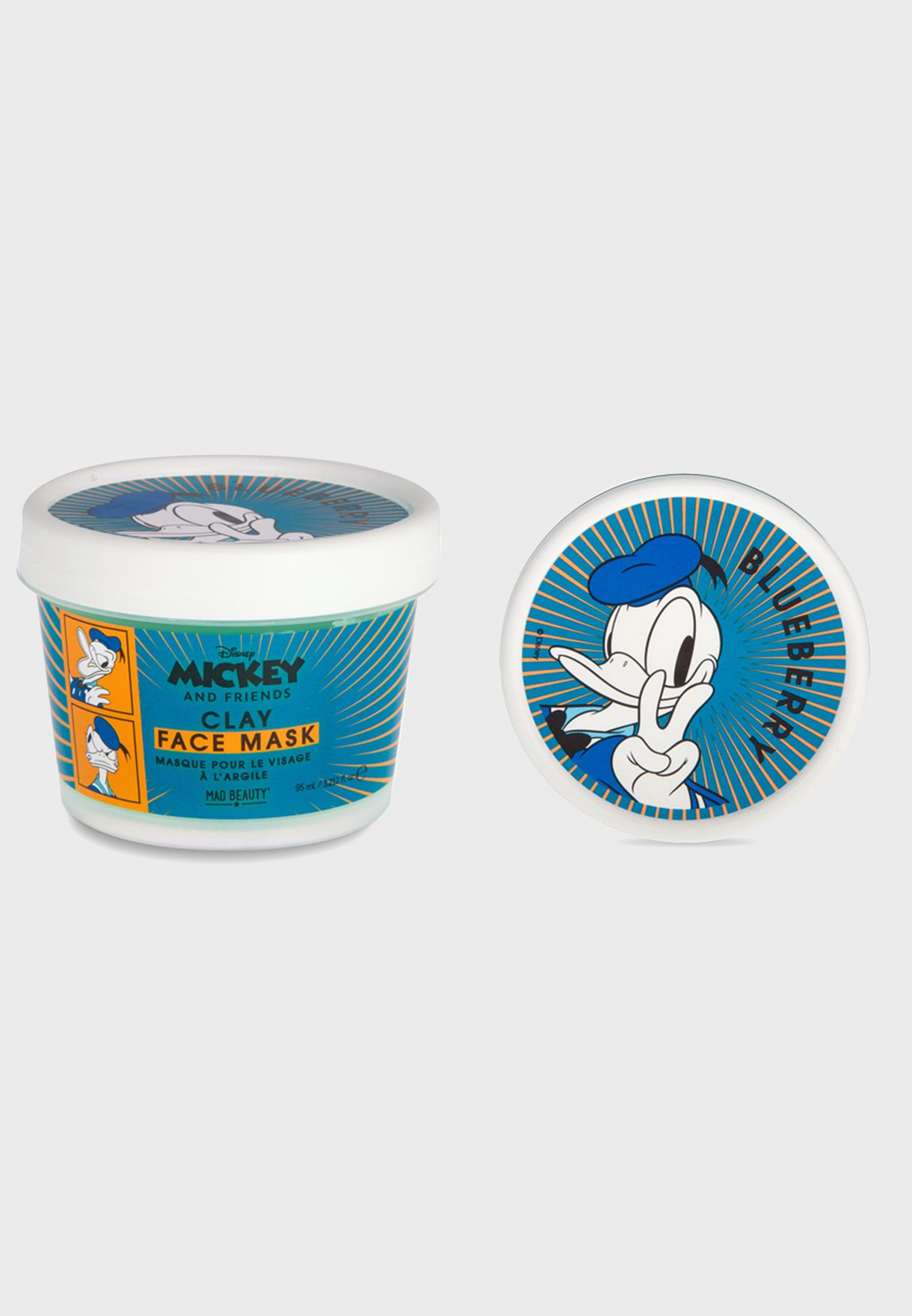 M&F Donald Duck Blueberry Clay Mask