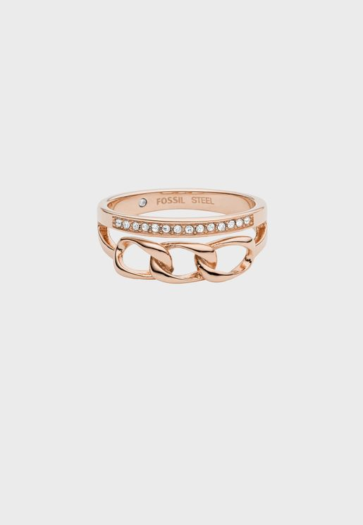 Studded Band Ring