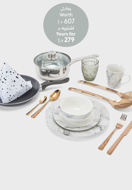 Namshi Back To Uni Kitchen Starter Set Worth 607 AED