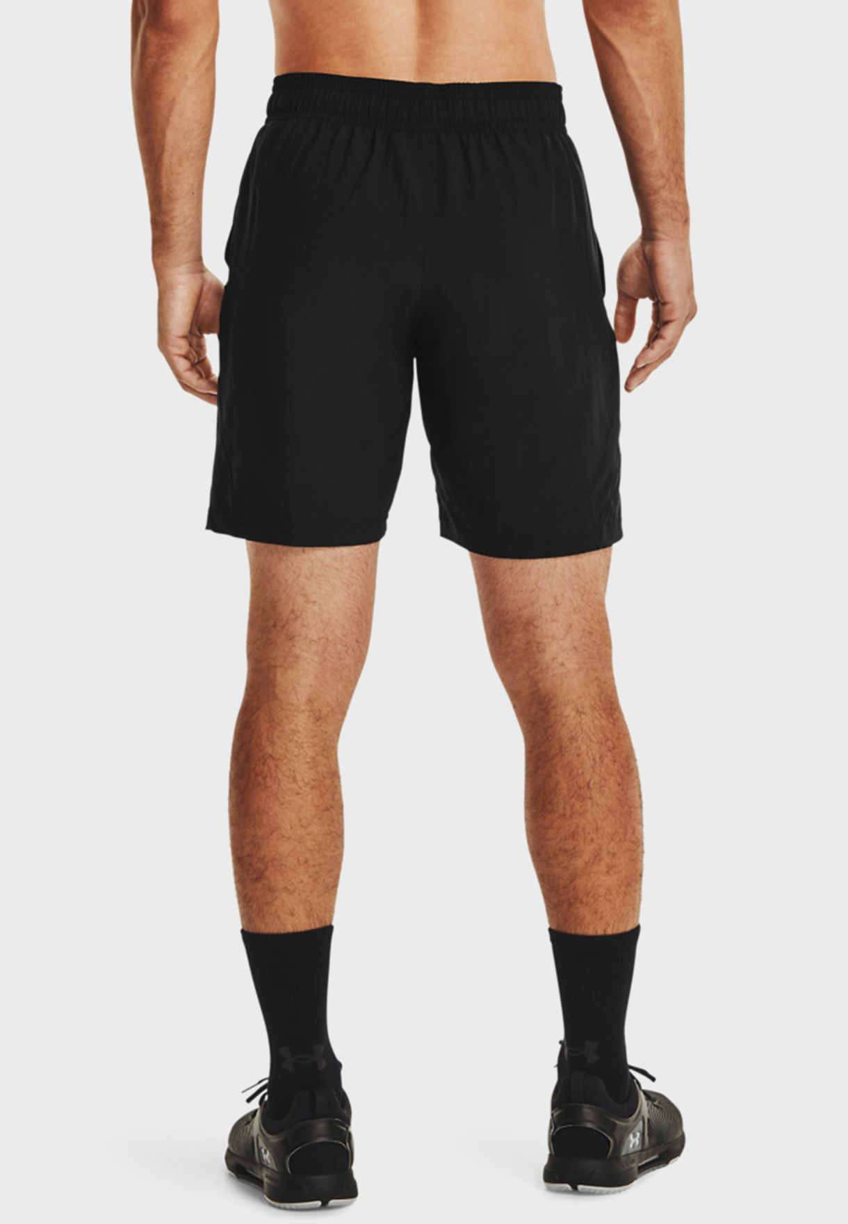 Woven Graphic Shorts